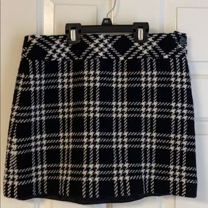 J. Crew 100% Wool Plaid Skirt